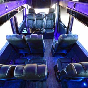 Battisti Customs Sprinter Shuttle Coachwest Motorcars