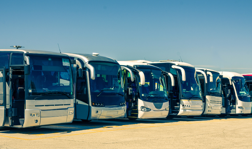 Coachwest buses and coaches