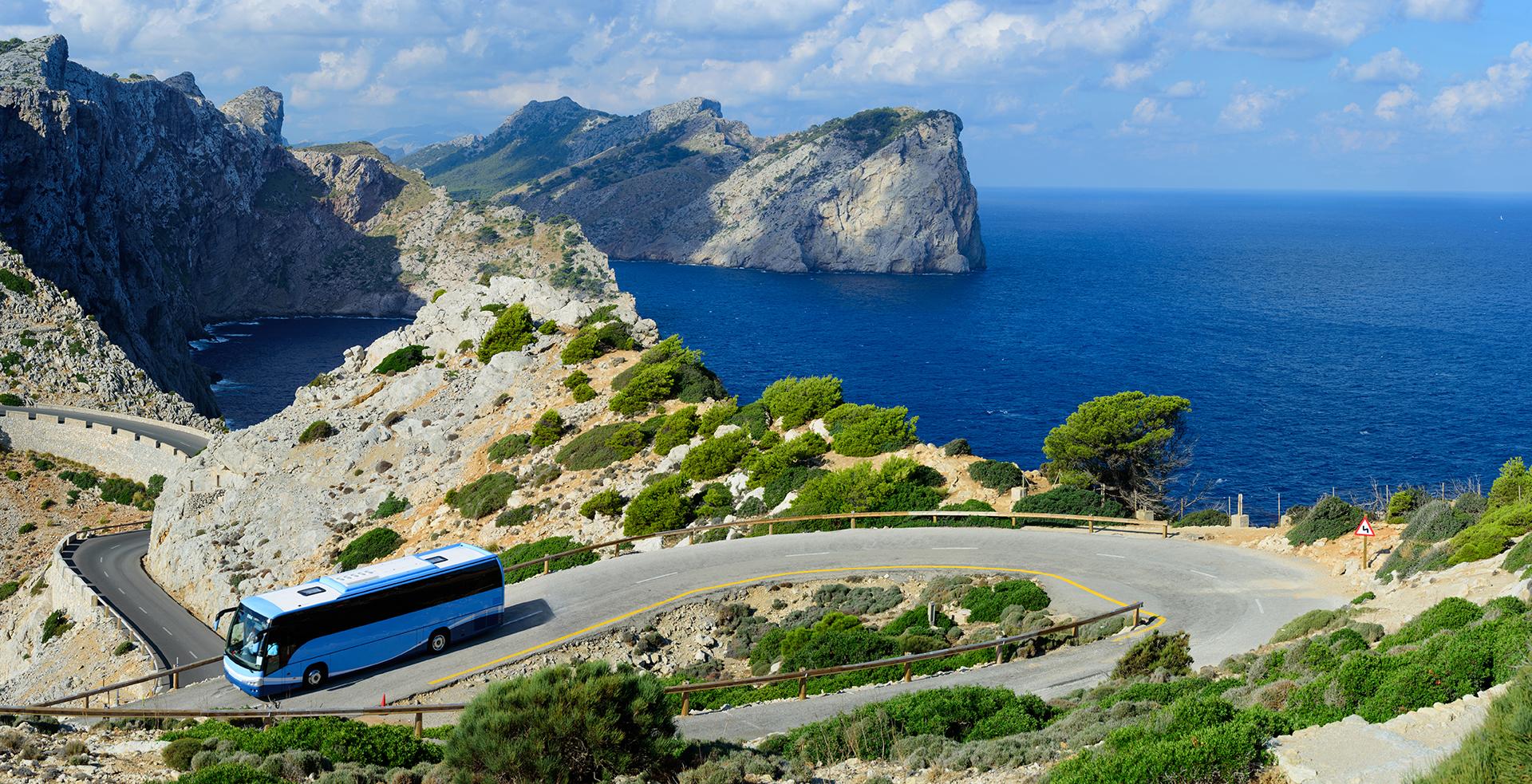 A Coach Bus Makes a Great Tourist Bus
