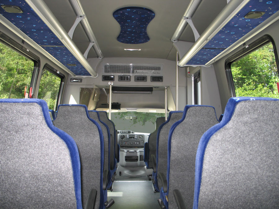 This Ameritrans F-Series Coach Buses Makes a Great Parking Shuttl