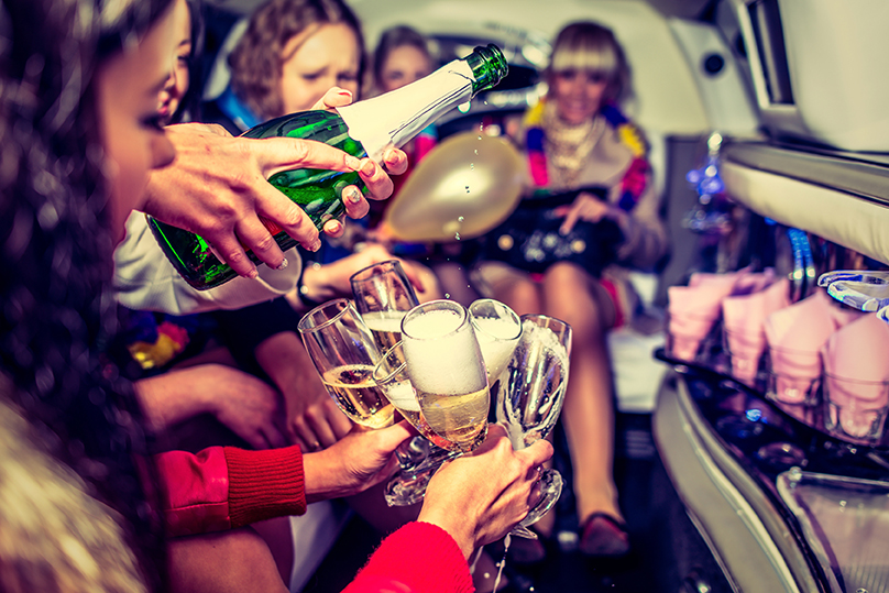 Amenities included in limousine sales