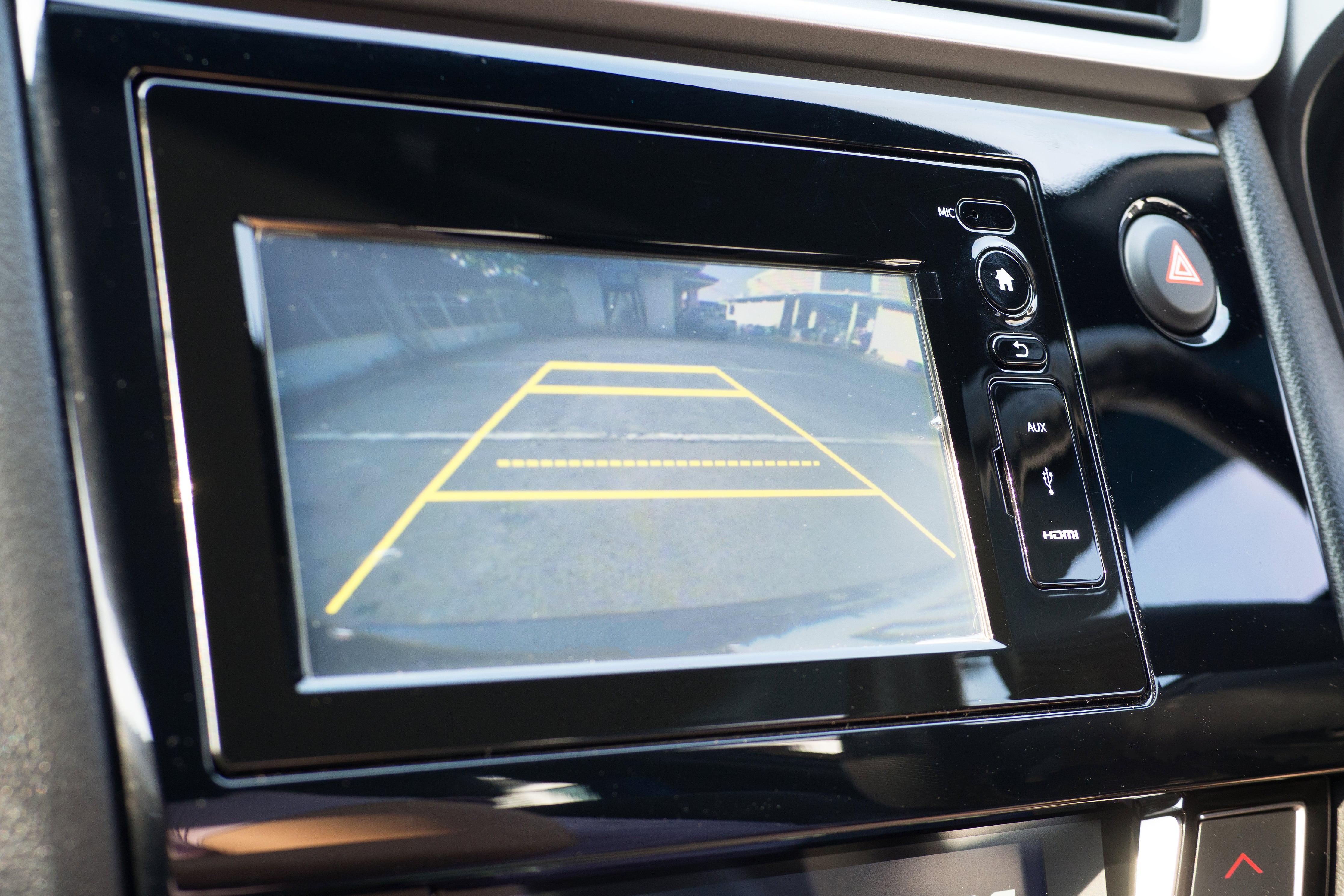 Safety features in van