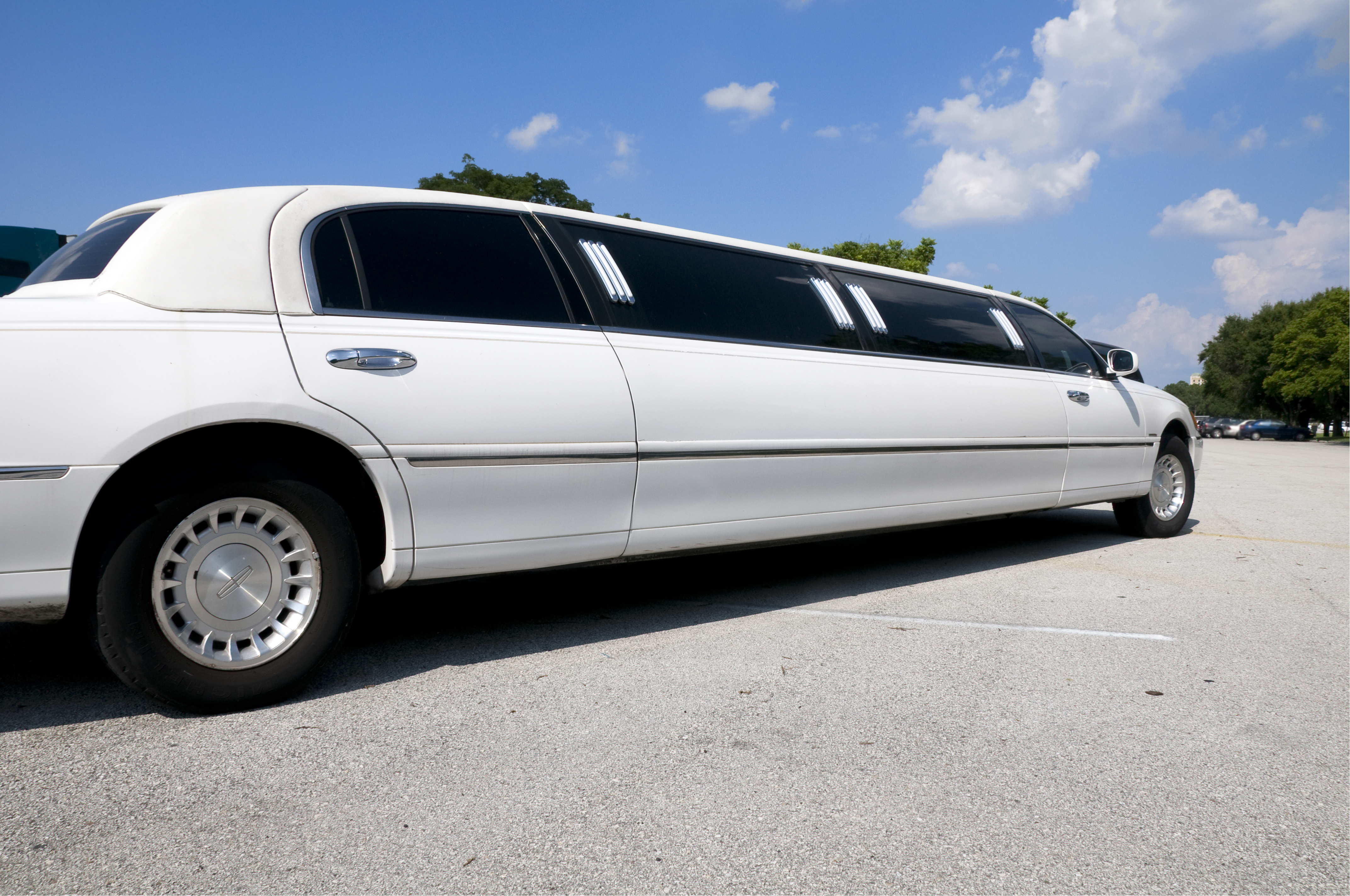 Limousine on the street