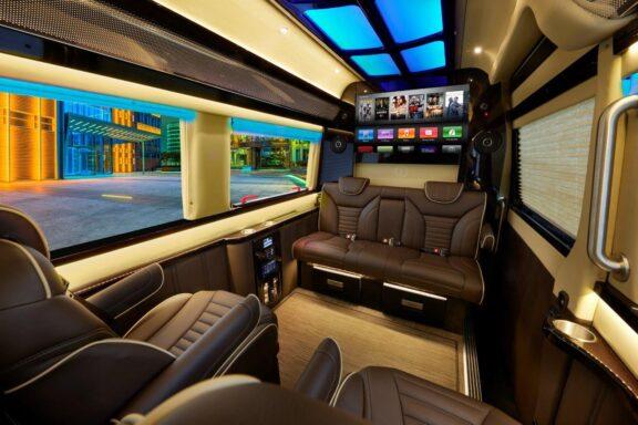 2019 Mercedes Benz Executive Coach CEO Sprinter full length interior