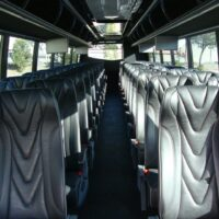 2020 Freightliner Executive Bus Builders SuperCoach 45 XL Passenger Cabin View from the Front