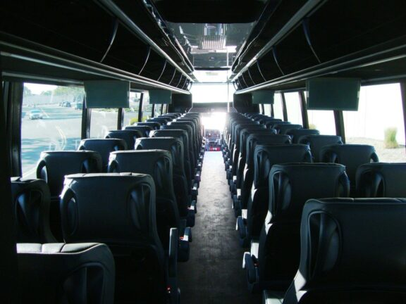 2020 Freightliner Executive Bus Builders SuperCoach 45 XL View of the Passenger Compartment From the Rear