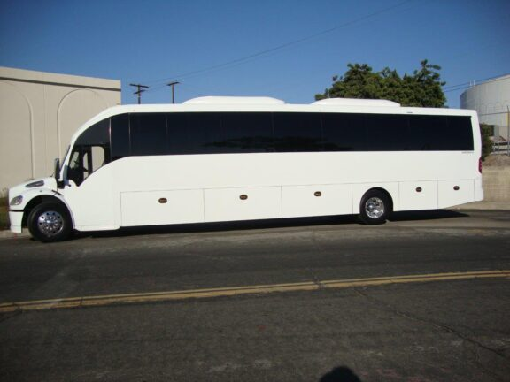 2020 Freightliner Executive Bus Builders SuperCoach 45 XL Side View Driver's Side