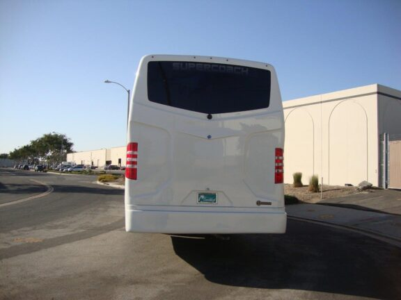 2020 Freightliner Executive Bus Builders SuperCoach 45 XL Rear View