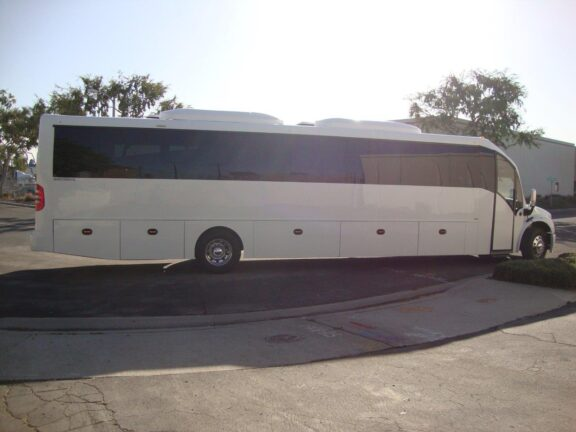 2020 Freightliner Executive Bus Builders SuperCoach 45 XL Side View Passenger