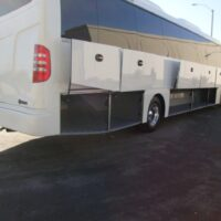 2020 Freightliner Executive Bus Builders SuperCoach 45 XL Passenger Cargo Compartments Open