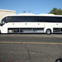 2020 Freightliner Executive Bus Builders SuperCoach 45 XL Cargo Compartments Open Driver's Side