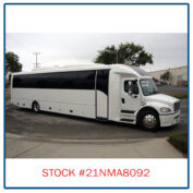 2021 Freightliner Executive Bus Builders ECoach 45 Wide Body Passenger Side View