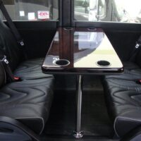2021 Freightliner Executive Bus Builders ECoach 45 Wide Body Passenger Seats with Table in Between Them