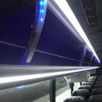 2021 Freightliner Executive Bus Builders ECoach 45 Wide Body Overhead Compartment View