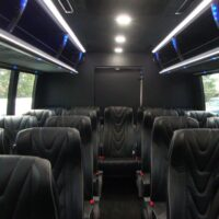 2021 Freightliner Executive Bus Builders ECoach 45 Wide Body Rear of Passenger Compartment