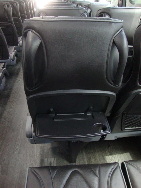 2021 Freightliner Executive Bus Builders ECoach 45 Wide Body View of Rear Seat