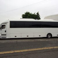 2021 Freightliner Executive Bus Builders ECoach 45 Wide Body Driver's Side View