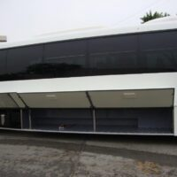 2021 Freightliner Executive Bus Builders ECoach 45 Wide Body Cargo Compartments Open Driver's Side