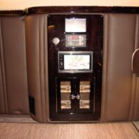 Mini fridge and karaoke machine 2019 Mercedes Benz Executive Coach CEO Sprinter